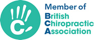 Member of the British Chiropractic Association